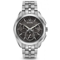 Kaufen Sie Bulova Herrenuhr Progressive Dress Curv 96A186 Quarz Chronograph