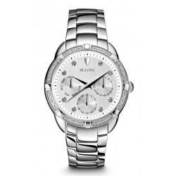 Kaufen Sie Bulova Damenuhr Diamonds 96W195 Quartz