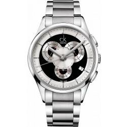 Kaufen Sie Calvin Klein Herrenuhr Basic K2A27104 Chronograph