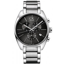 Kaufen Sie Calvin Klein Herrenuhr Exchange Chronograph K2F27161