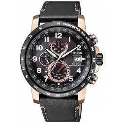 Citizen Herrenuhr Funkuhr H800 Sport Chrono Eco-Drive AT8126-02E