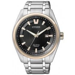 Citizen Herrenuhr Super Titanium Eco-Drive AW1244-56E