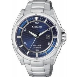 Citizen Herrenuhr Super Titanium Eco-Drive AW1400-52M