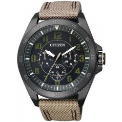 Citizen Herrenuhr Military Eco-Drive Multifunktions BU2035-05E