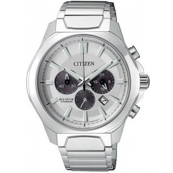 Citizen Herrenuhr Super Titanium Chrono Eco-Drive CA4320-51A