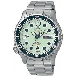 Citizen Herrenuhr Promaster Diver's Automatic 200M NY0040-50W