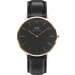 Kaufen Sie Daniel Wellington Herrenuhr Classic Black Sheffield 40MM DW00100127