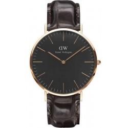 Kaufen Sie Daniel Wellington Herrenuhr Classic Black York 40MM DW00100128