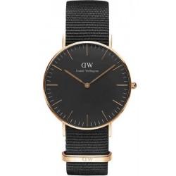 Kaufen Sie Daniel Wellington Unisexuhr Classic Black Cornwall 36MM DW00100150
