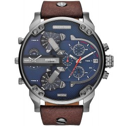 Diesel Herrenuhr Mr. Daddy 2.0 Chronograph 4 Zeitzonen DZ7314