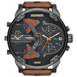 Diesel Herrenuhr Mr. Daddy 2.0 Chronograph 4 Zeitzonen DZ7332