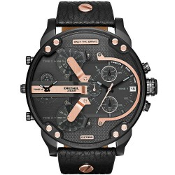 Diesel Herrenuhr Mr. Daddy 2.0 DZ7350 Chronograph 4 Zeitzonen