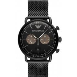 Kaufen Sie Emporio Armani Herrenuhr Aviator AR11142 Chronograph