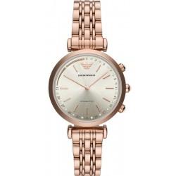 Kaufen Sie Emporio Armani Connected Damenuhr Gianni T-Bar ART3026 Hybrid Smartwatch