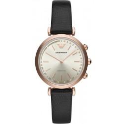 Kaufen Sie Emporio Armani Connected Damenuhr Gianni T-Bar ART3027 Hybrid Smartwatch