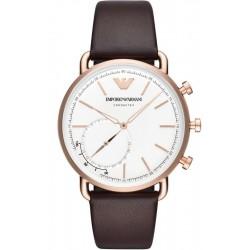 Kaufen Sie Emporio Armani Connected Herrenuhr Aviator ART3029 Hybrid Smartwatch