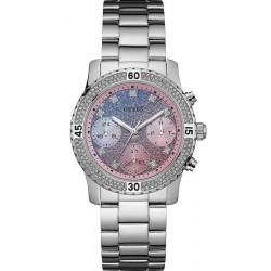 Kaufen Sie Guess Damenuhr Confetti Chrono Look Multifunktions W0774L1