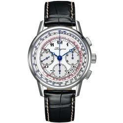 Kaufen Sie Longines Herrenuhr Heritage Tachymeter Automatic Chronograph L27814132
