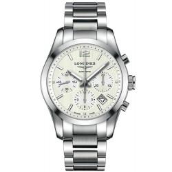 Kaufen Sie Longines Herrenuhr Conquest Classic Automatik Chronograph L27864766