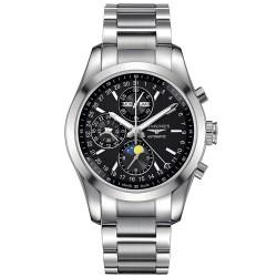 Kaufen Sie Longines Herrenuhr Conquest Classic Chronograph Automatic L27984526
