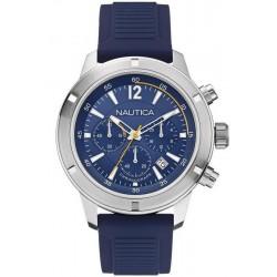 Nautica Herrenuhr NSR 19 A17652G Chronograph