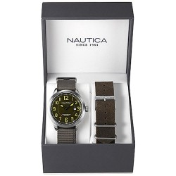 Nautica Herrenuhr NCC 01 Date Box Set NAI12525G