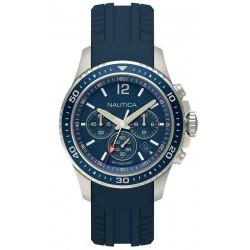 Kaufen Sie Nautica Herrenuhr Freeboard NAPFRB009 Chronograph