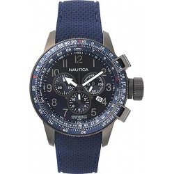 Nautica Herrenuhr Galley Box Set Chronograph NAPGLY001