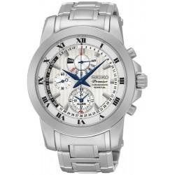 Kaufen Sie Seiko Herrenuhr Premier Chronograph Perpetual Calendar Alarm SPC159P1