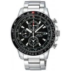 Kaufen Sie Seiko Herrenuhr Prospex Sky Chronograph Solar SSC009P1