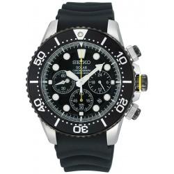 Kaufen Sie Seiko Herrenuhr Prospex Chronograph Diver's 200M Solar SSC021P1