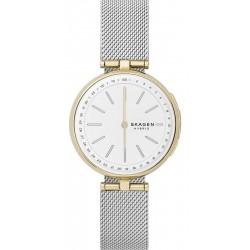 Kaufen Sie Skagen Connected Damenuhr Signatur T-Bar Hybrid Smartwatch SKT1413