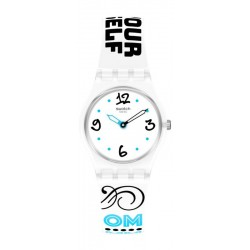 Swatch Damenuhr Lady #Bluefeather LW171