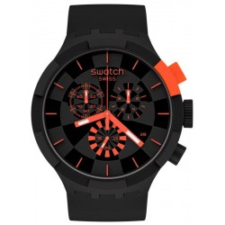 Swatch Uhr Big Bold Chrono Checkpoint Red SB02B402