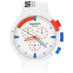 Swatch Uhr Big Bold Chrono Extravehicular NASA SB04Z400