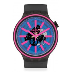 Swatch Uhr Big Bold Blue Taste SO27B111