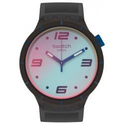 Swatch Uhr Big Bold Futuristic Grey SO27B121