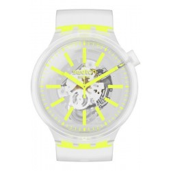 Swatch Uhr Big Bold Yellowinjelly SO27E103