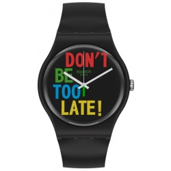 Swatch Unisexuhr New Gent Timefortime SO29B100