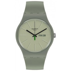 Swatch Unisexuhr New Gent We In The Khaki Now SO29M700