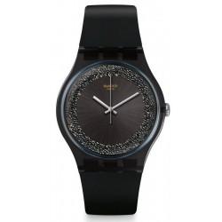 Swatch Damenuhr New Gent Darksparkles SUOB156