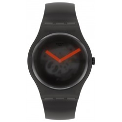 Swatch Unisexuhr New Gent Black Blur SUOB183