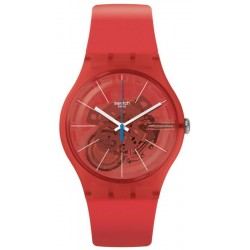 Swatch Unisexuhr New Gent Bloody Orange SUOO105