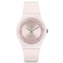 Swatch Damenuhr New Gent Pinksparkles SUOP110