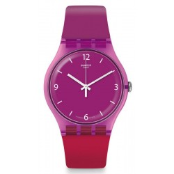 Kaufen Sie Swatch Damenuhr New Gent Cherryberry SUOV104