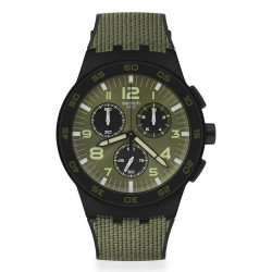 Swatch Herrenuhr Chrono Plastic Dark Forest SUSB105 kaufen