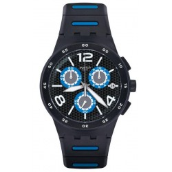 Kaufen Sie Swatch Herrenuhr Chrono Plastic Black Spy SUSB410