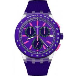 Kaufen Sie Swatch Unisexuhr Chrono Plastic Purp-Lol SUSK400