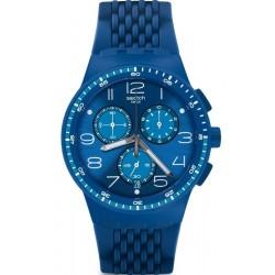 Kaufen Sie Swatch Unisexuhr Chrono Plastic Triple Blu SUSN415