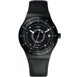 Swatch Unisexuhr Sistem51 Sistem Black SUTB400 Automatik